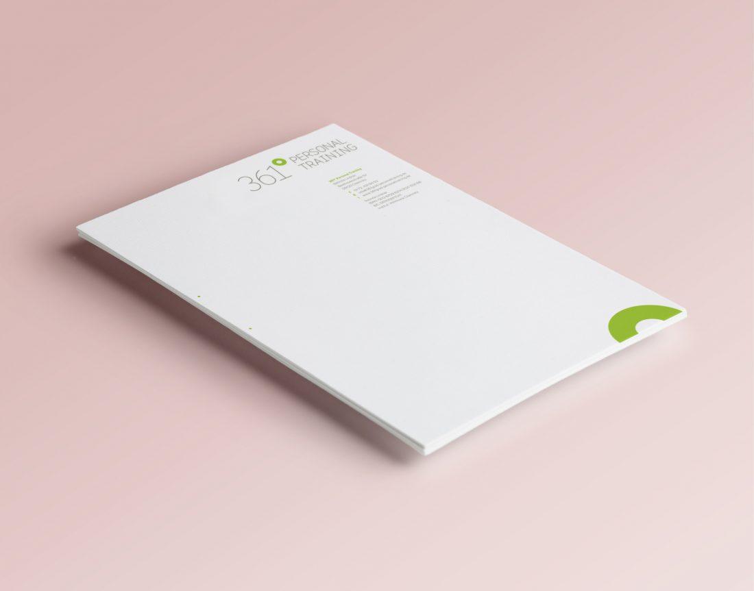 361 Grad - Briefbogen