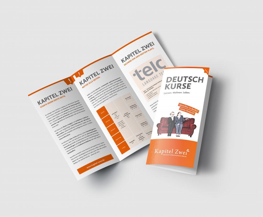 Kapitel Zwei - Flyer Deutschkurse