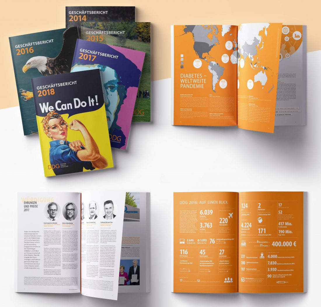 DDG - Geschäftsbericht, Jahresbericht