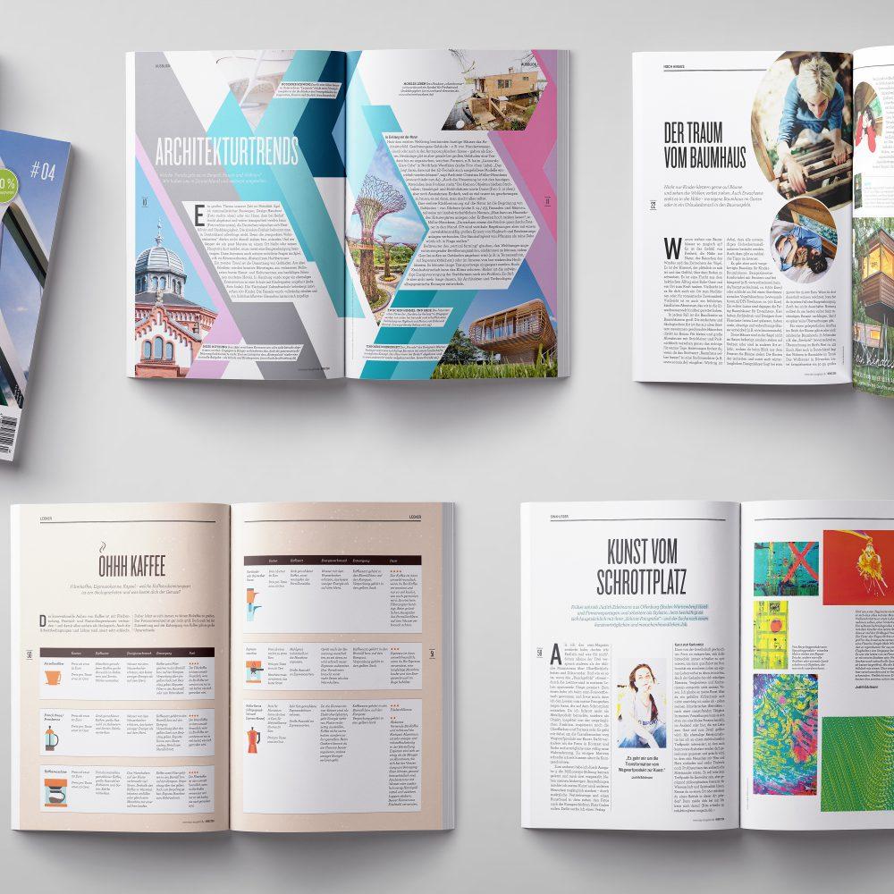 Sinn Magazin - Editorial Design