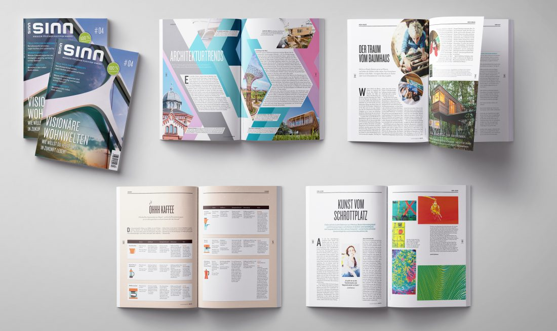 Sinn Magazin - Editorial Design