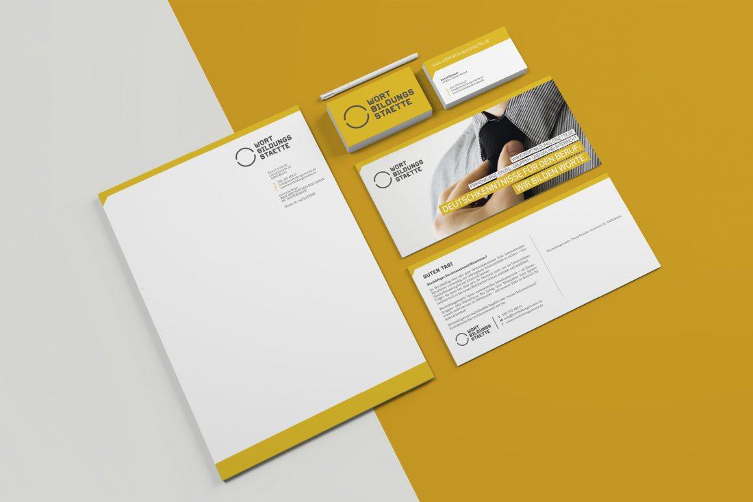 Wortbildungsstaette - Corporate Design