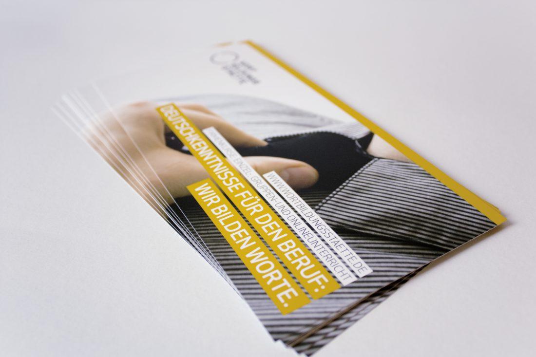 Wortbildungsstaette - Flyer