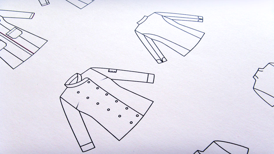Apparel - Der Schnitt. Technische Zeichnungen